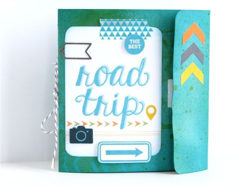 7a - Road Trip Mini Book - Susan Bruyn