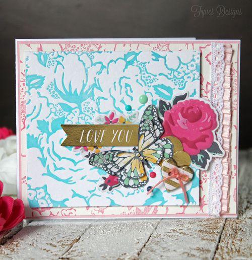 Floral-letterpress
