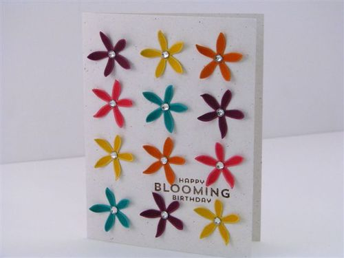 15 Happy Bloomin' Card - Martha Inchley