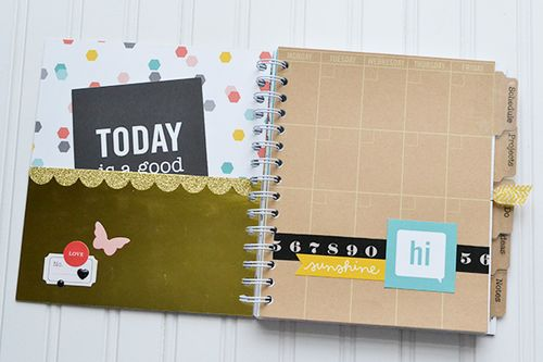 DIY School Agenda by Aly Dosdall 2