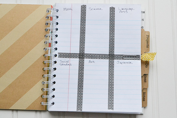 Scrapbook & Cards Today Blog: Diy School Agenda With Aly Dosdall!