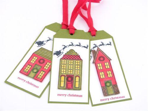 2 - Christmas Gift Tags - Carol Matthews