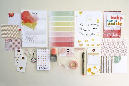 Oct planner kit