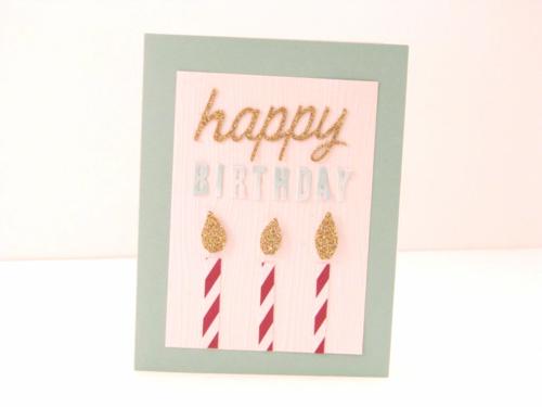 5 Happy Birthday card - Linda Yamamoto