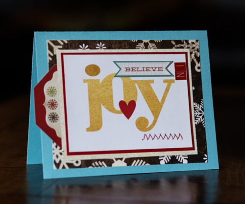 Christa holiday card