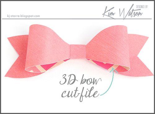 FREE Bow cutfile from Kim Watson