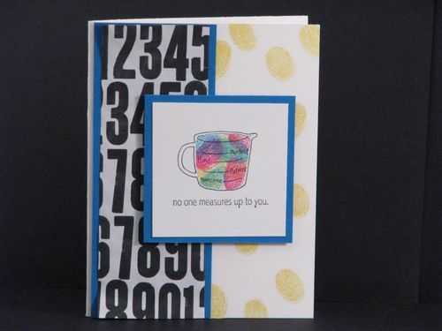 2 - No one measures up card - Linda Yamamoto