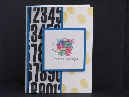 2 - No one measures up card - Linda Yamamoto