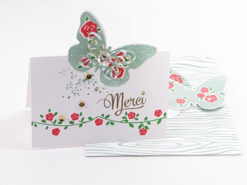 5 - Merci buttefly card - Susy Cote¦ü