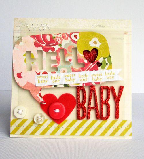 Hello baby card_Nicole