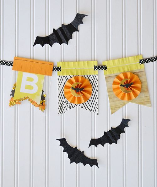 Halloween Boo Banner by Aly Dosdall