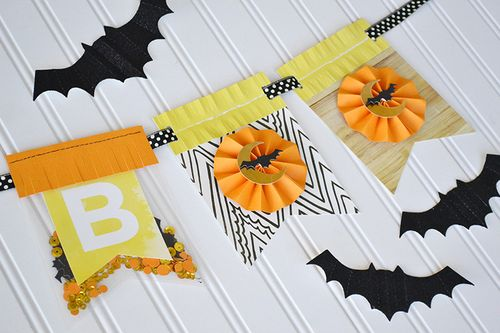 Halloween Boo Banner by Aly Dosdall 5