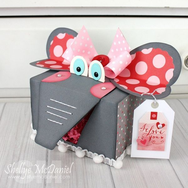 Scrapbook u0026 Cards Today Blog Craft it Monday Valentine Treat Box with Shellye McDaniel! : valentine boxes for school ideas - Aboutintivar.Com