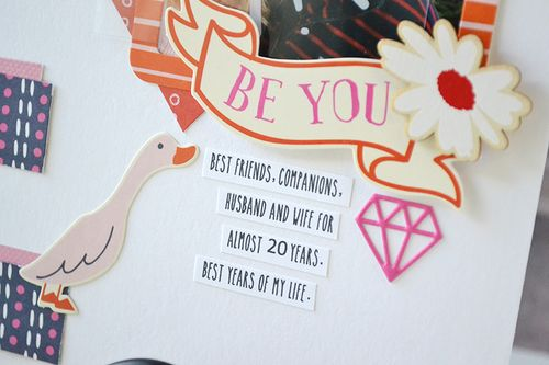 LOVE layout by Aly Dosdall 6