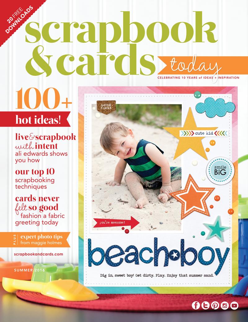 How to scrapbook magazines - Su2016_cover
