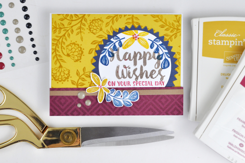 Happy Wishes Card by Jen Gallacher Photo 1