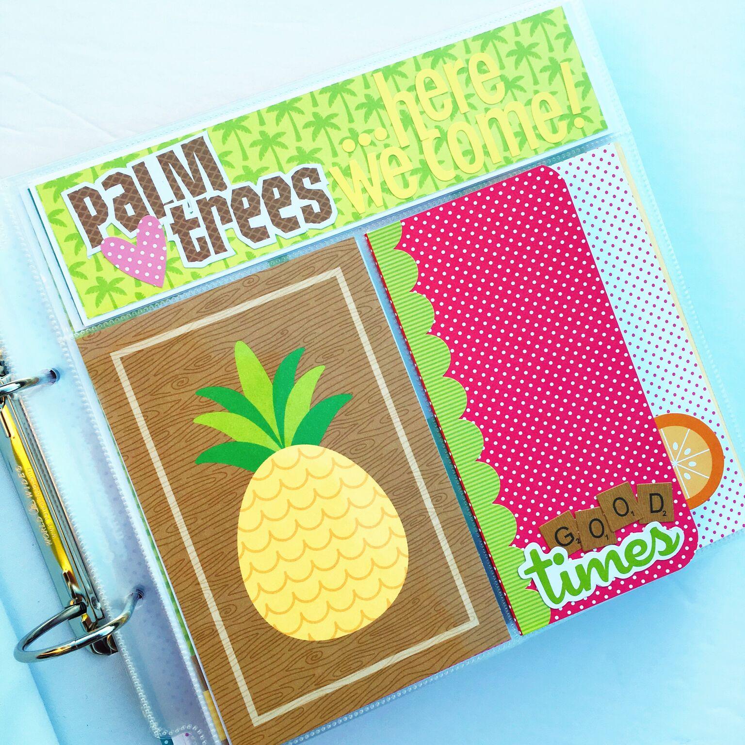 Scrapbook ideas hawaii - Vb2