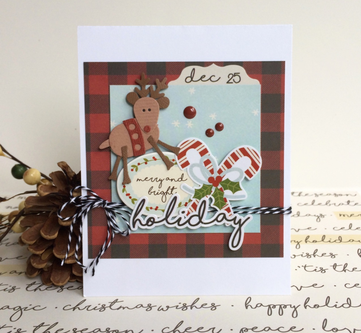 Scrapbook paper companies -  Hope Everyone Is Enjoying All The Card Licious Inspiration Today On The Blog For Those That Are Gearing Up For The Assembly Line Holiday Card Making I D
