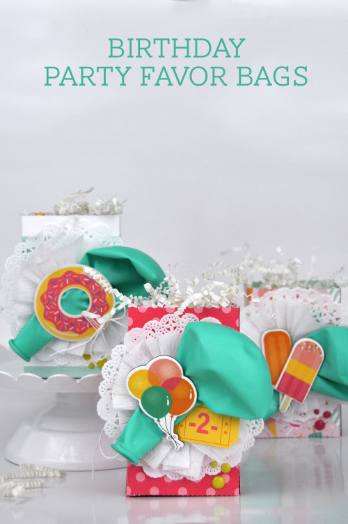 Birthday Party Favor Bags Photo 2 by Jen Gallacher