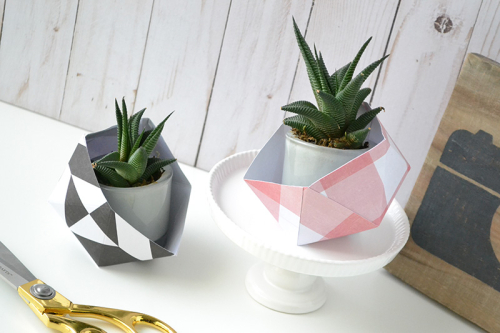 Geometric Planters by Aly Dosdall 4