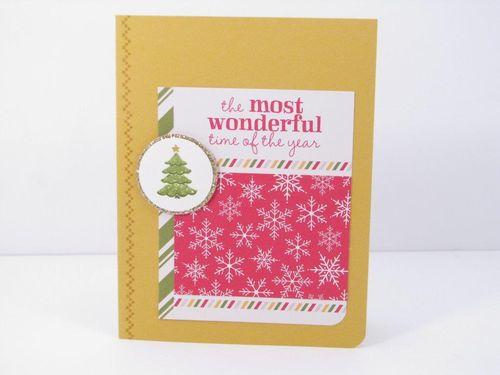 2 Most Wonderful Time card - Cindy Major
