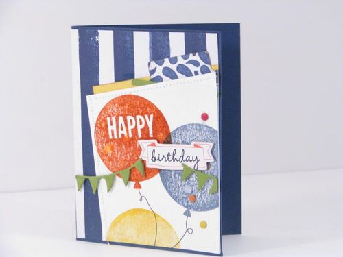 3 Happy Birthday Card - Cathy Caines