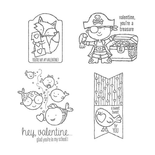 Hey Valentine Clear Stamp Set