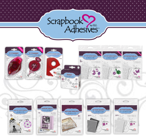 Scrapbook adhesives giveaway