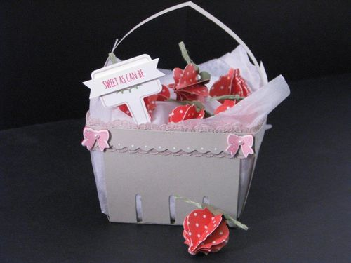 7 - Strawberry Basket - Tara Murphy Bourgoin