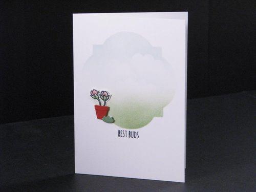 10 - Best Buds Notecard - Tara Murphy Bourgoin