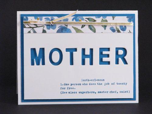 3 - Mother card - Linda Yamamoto