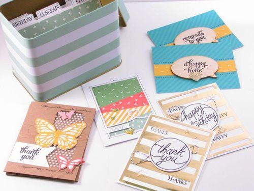 1 - Tin Card Kit - Anne Granger