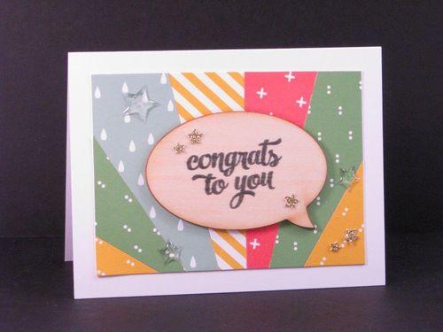 9 - Congrats card - Julie Oliver