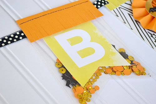Halloween Boo Banner by Aly Dosdall 2