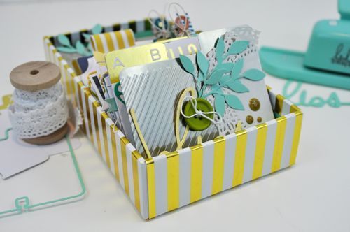 Heidi Swapp Rolodex Mini Album by Jen Gallacher Photo 1