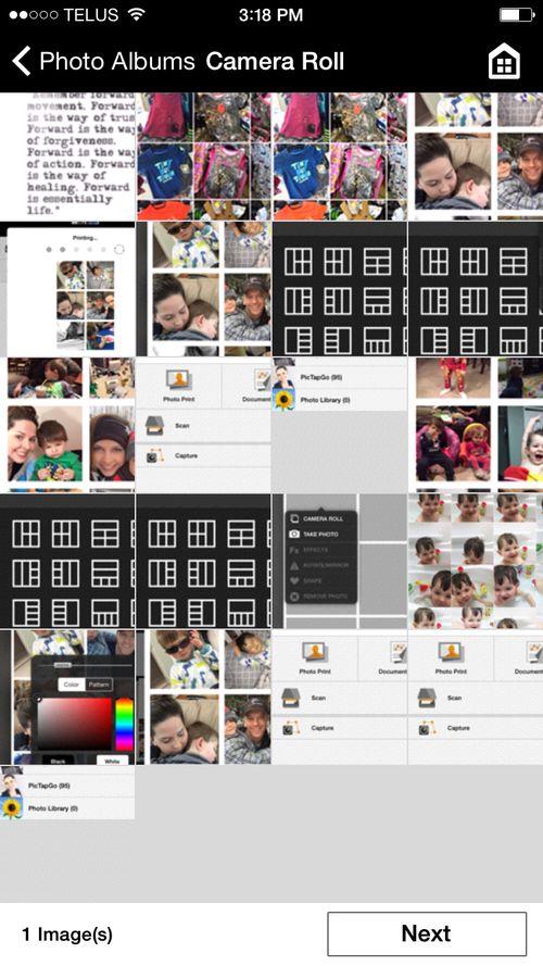 Locate photo collage