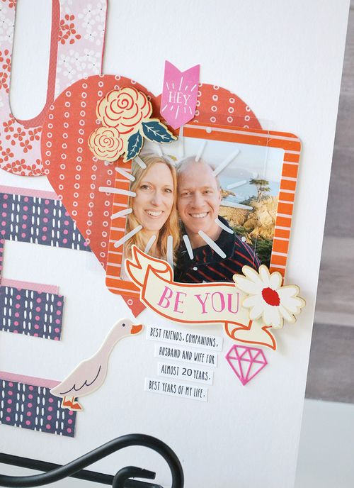 LOVE layout by Aly Dosdall 4