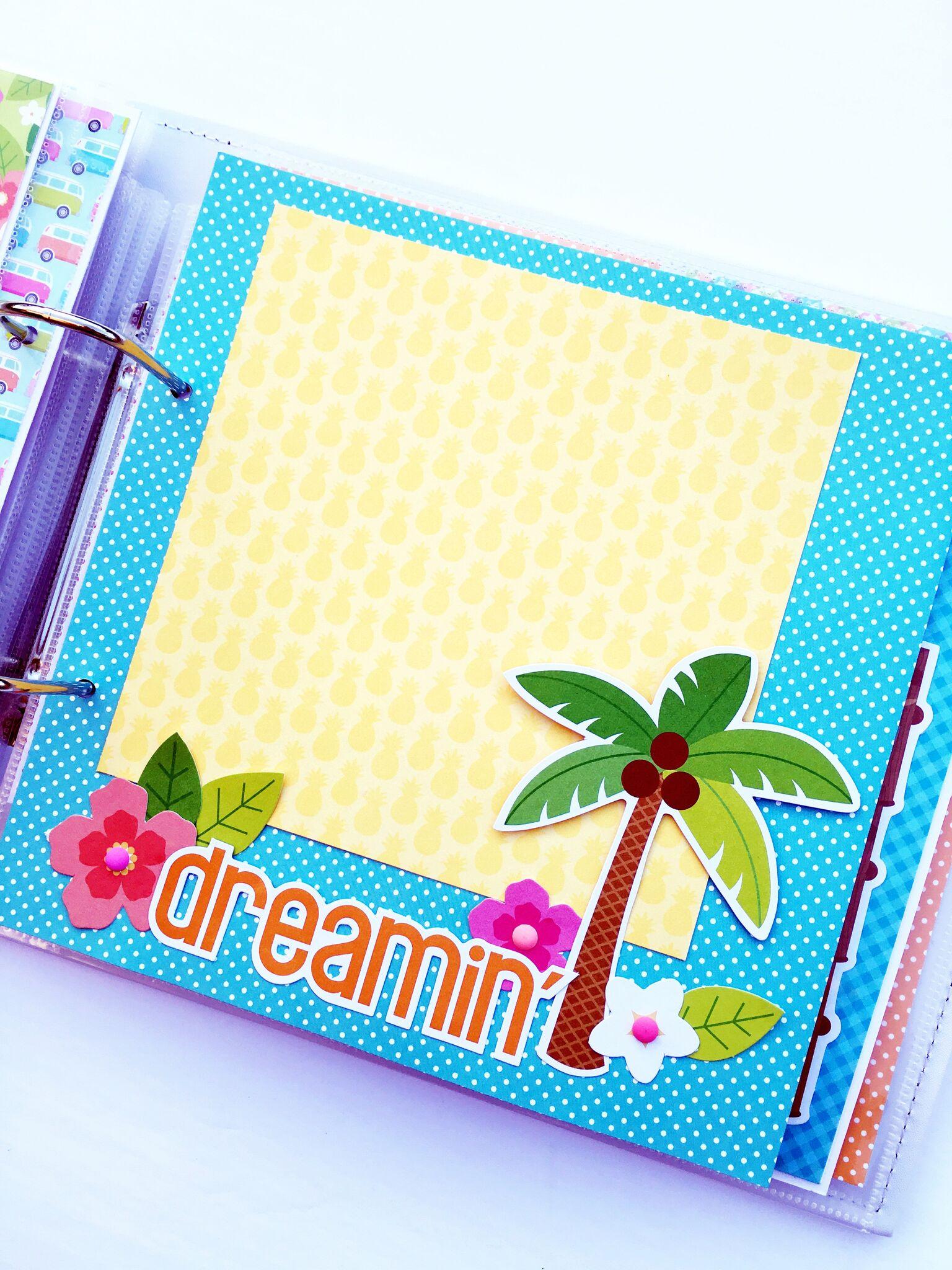 Scrapbook ideas hawaii - Vb3
