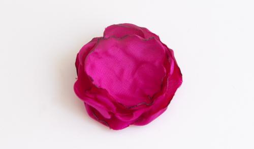 Fabric Flower Step 4