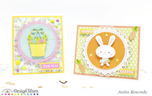 Easter cards by Anita Bownds - doodlebug