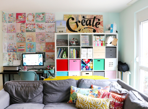 Paige Evans Craft Room