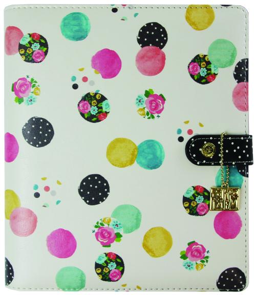Floral Dot planner