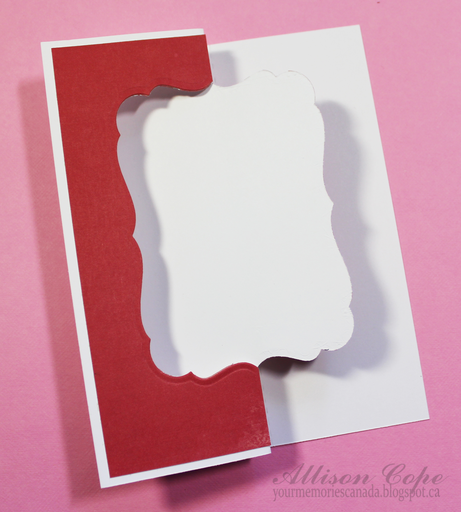 ff2267c33f8c Scrapbook   Cards Today Blog  Card Cafe Thursday - swing card ...