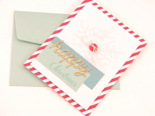 9 Happy Christmas card - Angela McKay