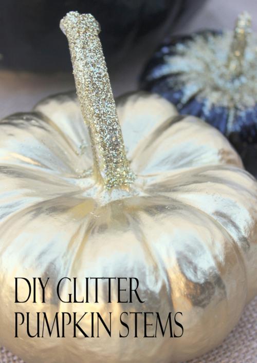 14glitter-pumpkins