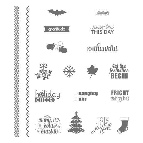 Project Life Holiday Cheer Stamp Set