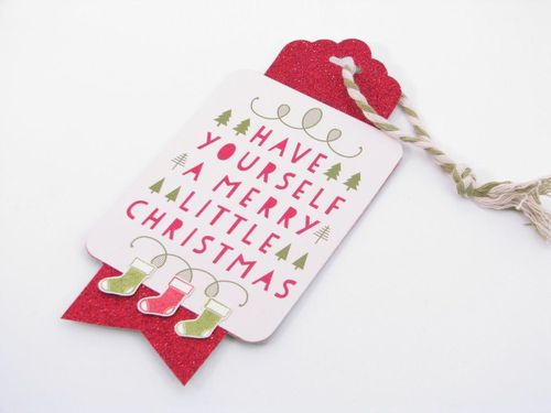 4 A Merry Little Christmas Tag - Cindy Major
