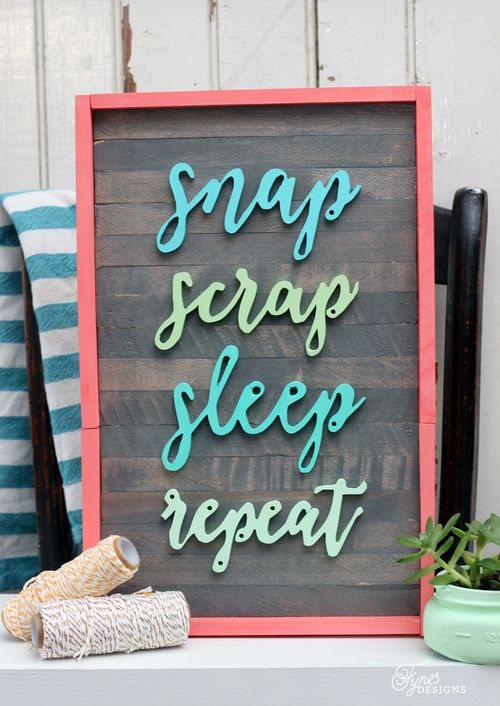 Scrapbooking-painted-sign
