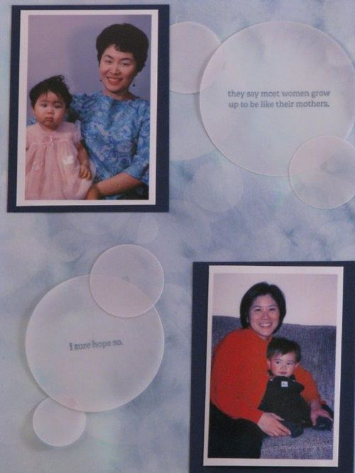 1 - Scrapbook page - Linda Yamamoto