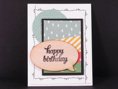 2 - Happy Birthday card - Anne Granger